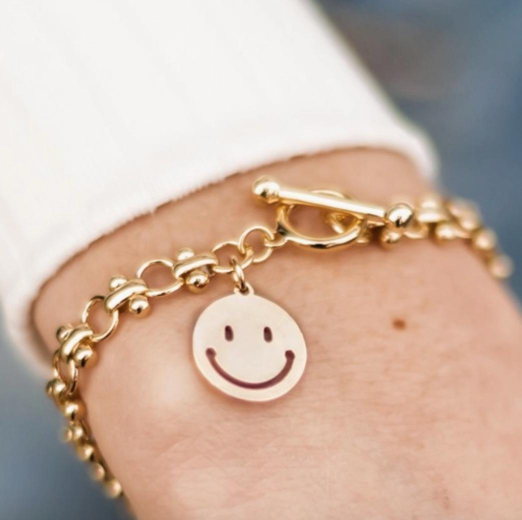 Mark Ashton: Smiley Daze Toggle Bracelet