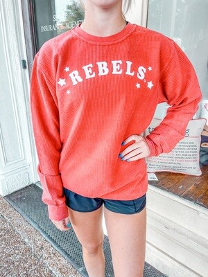 RED Rebels Trophy Corded Pullover