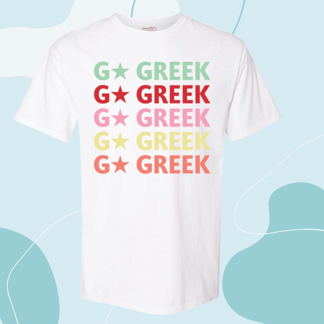 Go Greek Tee - 2021