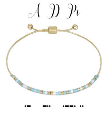 Dot & Dash Sorority Bracelets