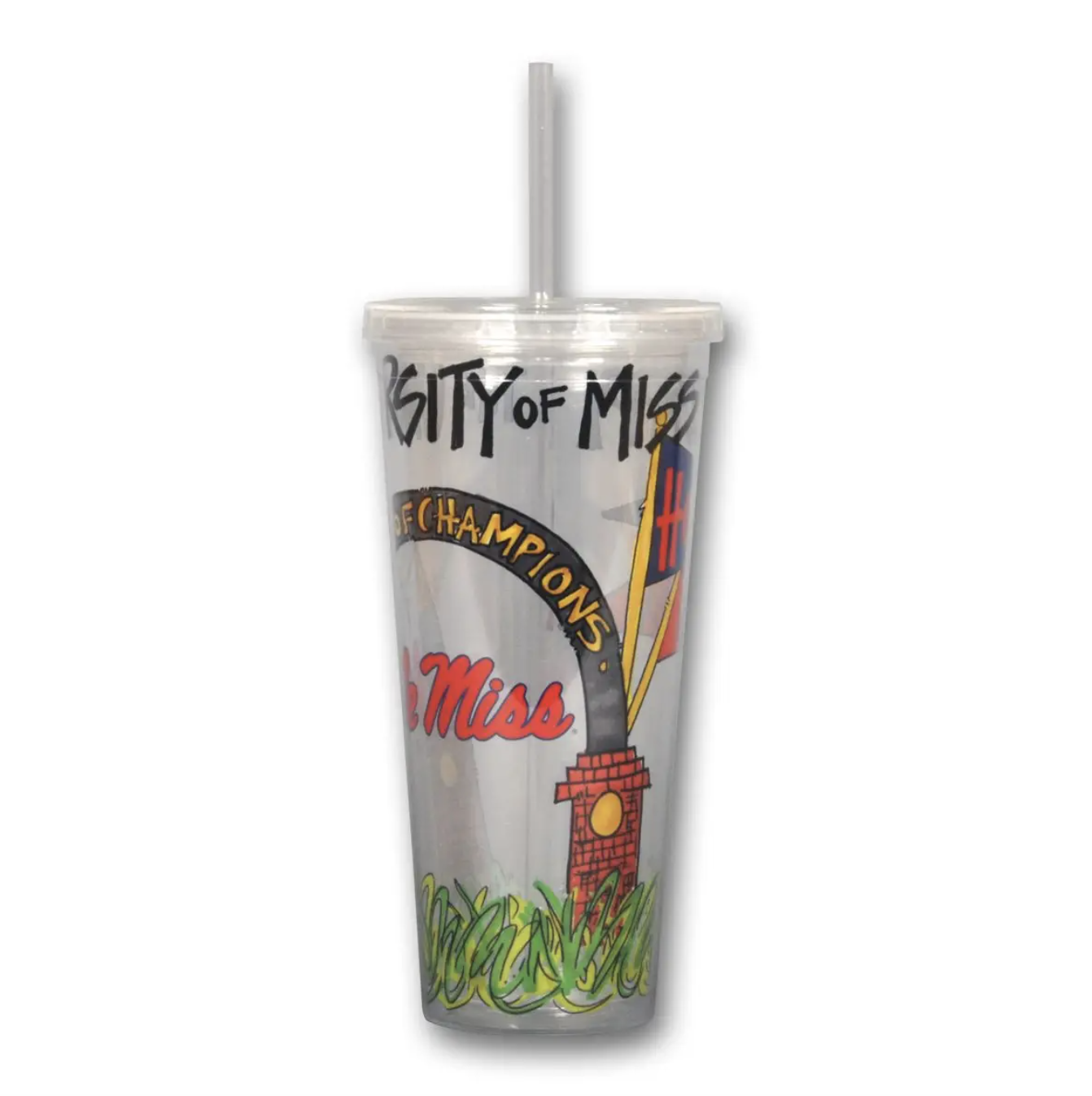 MS Tumbler with Straw