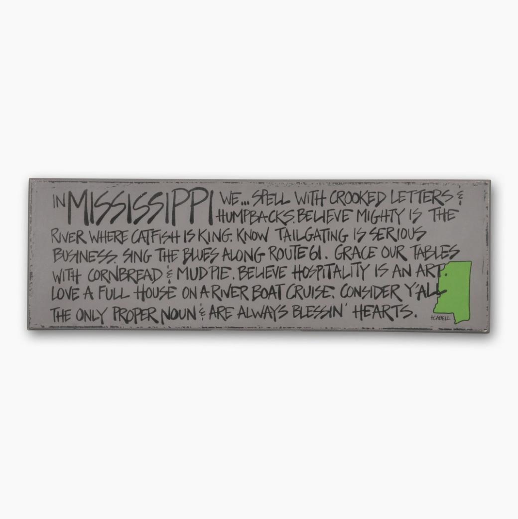 Magnolia Lane: Define MS Sign