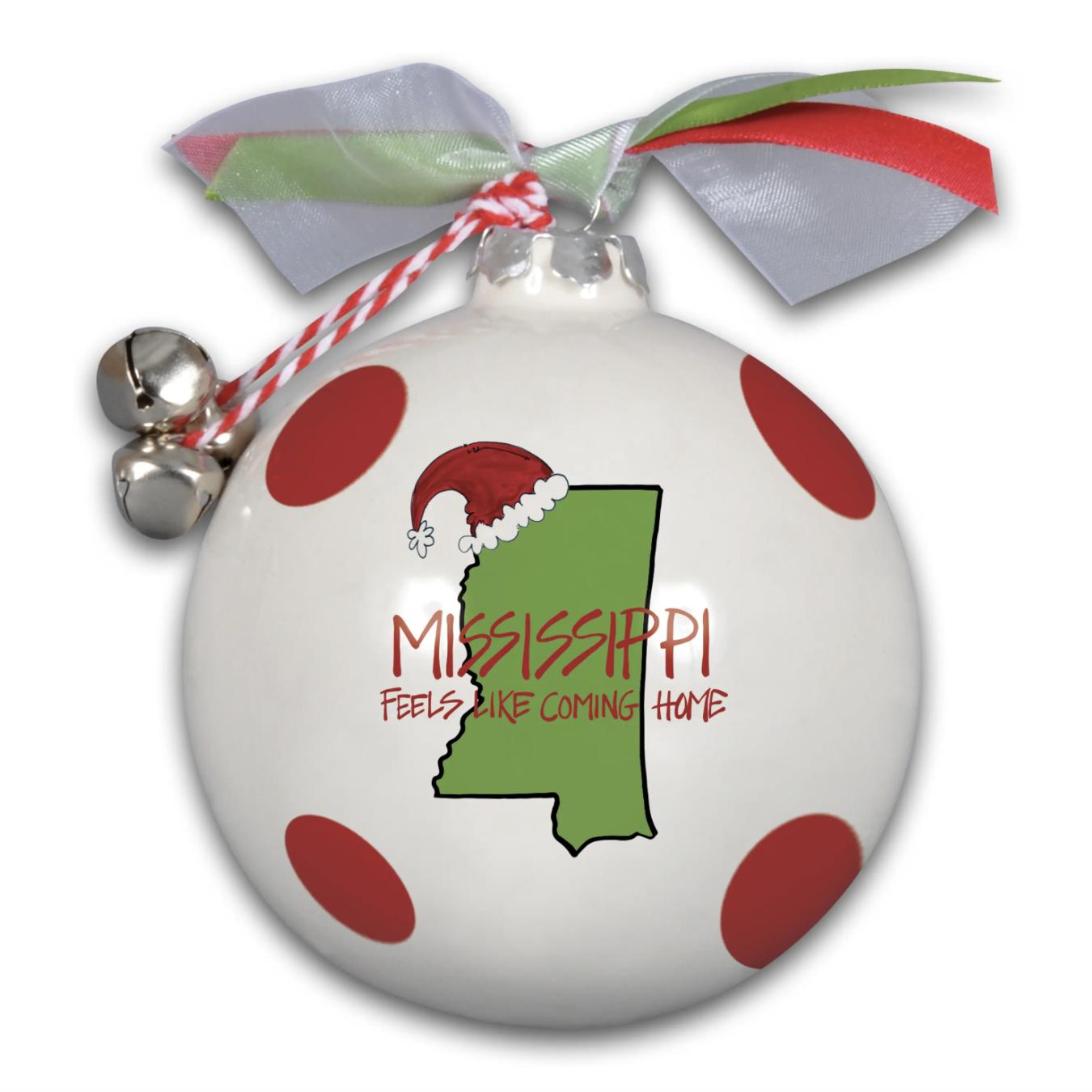 Magnolia Lane: MS Red Ornament