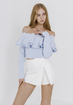 August Apparel: Scallop Sweater