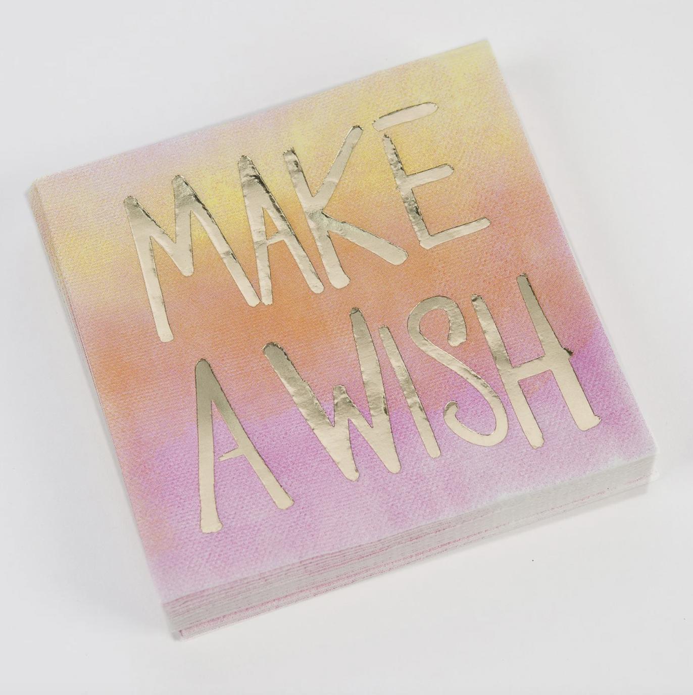 DTHY: Make A Wish Napkin