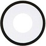 White Lens w/Black Rim