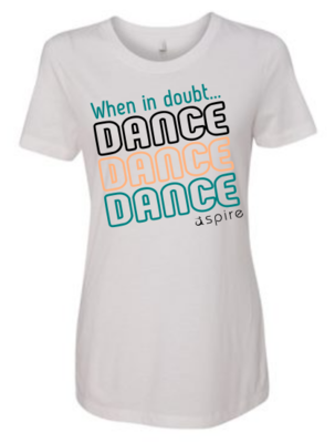Youth When in Doubt Dance T-Shirt