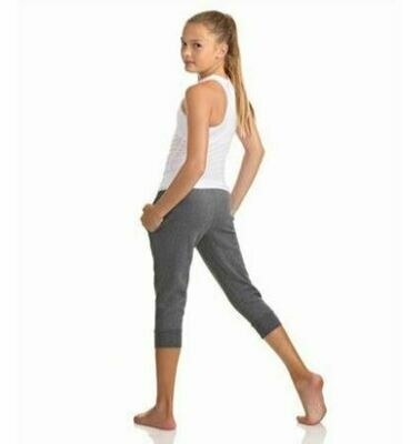 Youth Capri Sweatpants Dance Dance Dance logo
