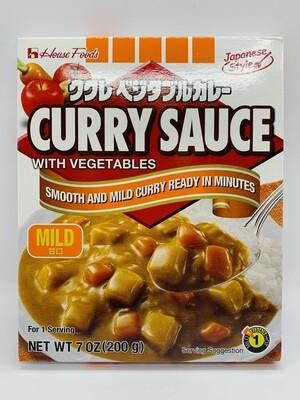 House Curry Sauce Mild 200g