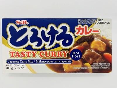 S&B Torokeru Curry Hot 200g