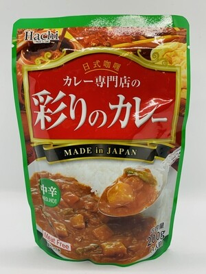 Hachi Curry Sauce MedHot 200g
