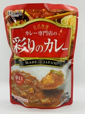 Hachi Curry Sauce Hot 200g