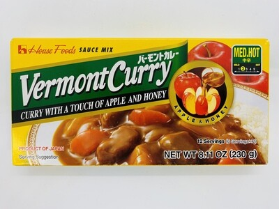 House Vermont Curry Med 230g