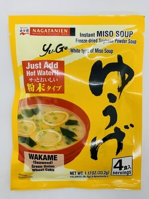 NAGATANIEN Miso Soup Yuge