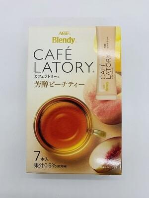 BLENDY Cafe Latory Peach Tea