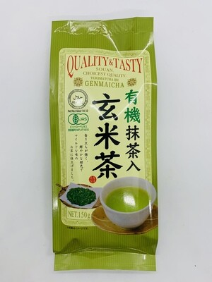 Quality&Tasty Organic Matcha Genmaicha 150g