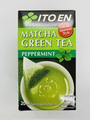 ITOEN Matcha Green Tea Peppermint