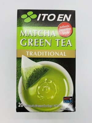 ITOEN Matcha Green Tea Traditional