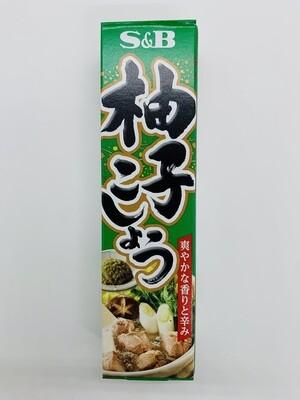S&B Yuzu Kosho Tube