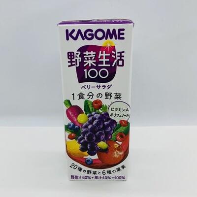 Kagome Yasai Juice Berry