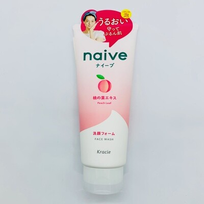 Naive Face Wash Peach