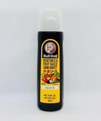 BULL-DOG Semi Sweet Chuno Sauce 500ml