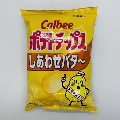 CALBEE Potato Chips Shiawase Butter
