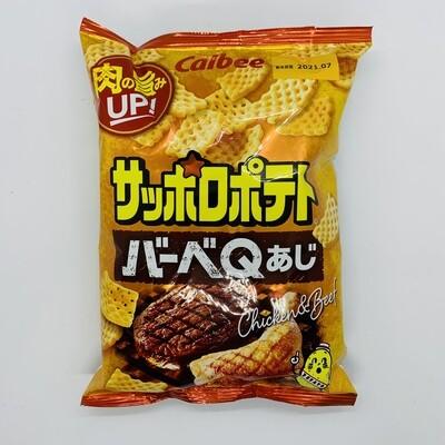 CALBEE Sapporopotato BBQ
