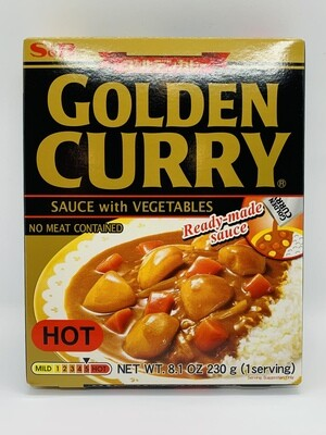 S&B GC Sauce with Vege Hot 230g W