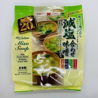 Hikari Instant Miso Less Salt 20serving