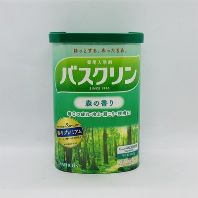 BATHCLIN Bath Salt Mori
