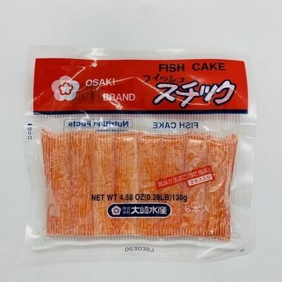 OSAKI Fishi Cake Immitation Crab 130g