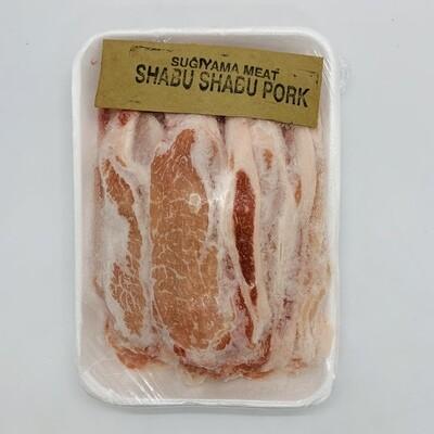 SUGIYAMA Pork ShabuShabu 1Lb