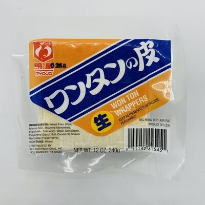 MYOJO Wantan Skins