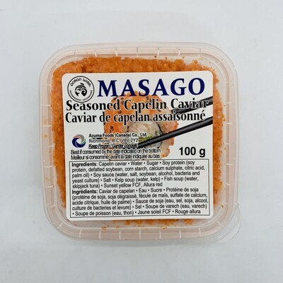 Masago Seasoned Capelin 100g