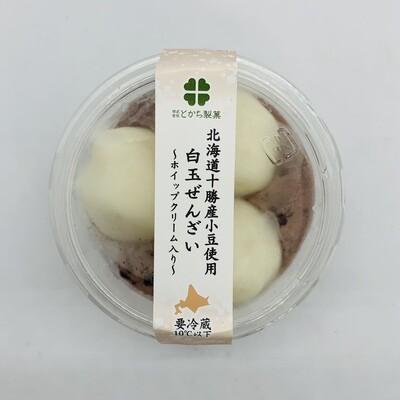 TOKACHI Shiratama Zenzai with Cream
