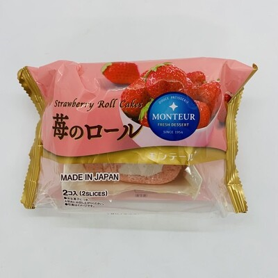 MONTEUR Strawberry Roll Cake