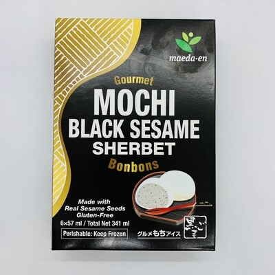 Maedaen Mochi Ice Black Sesame