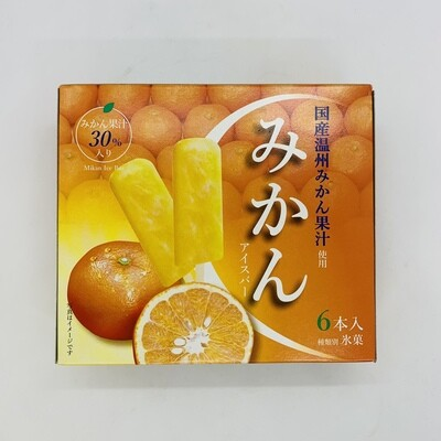 Mikan Ice Bar 6pc