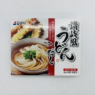 SHIMAYA Udon Soup Sanuki Fu Stock 8gx6