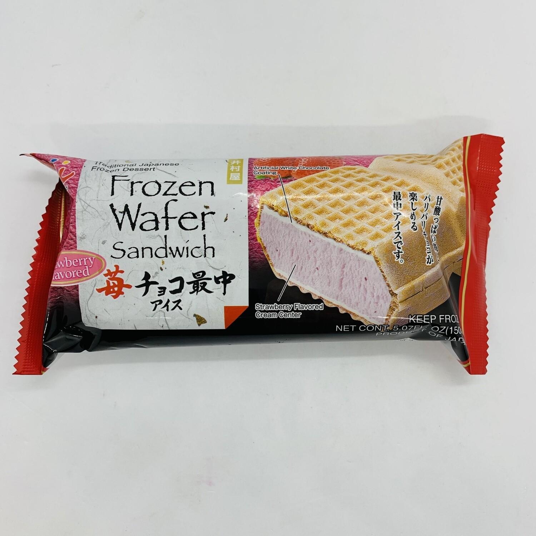 Imuraya Choco Monaka Strawberry