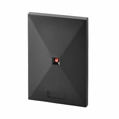 ZKTeco Multi-Technology Proximity Card Reader with Single-Gang Wall Box Mount (KR503H)