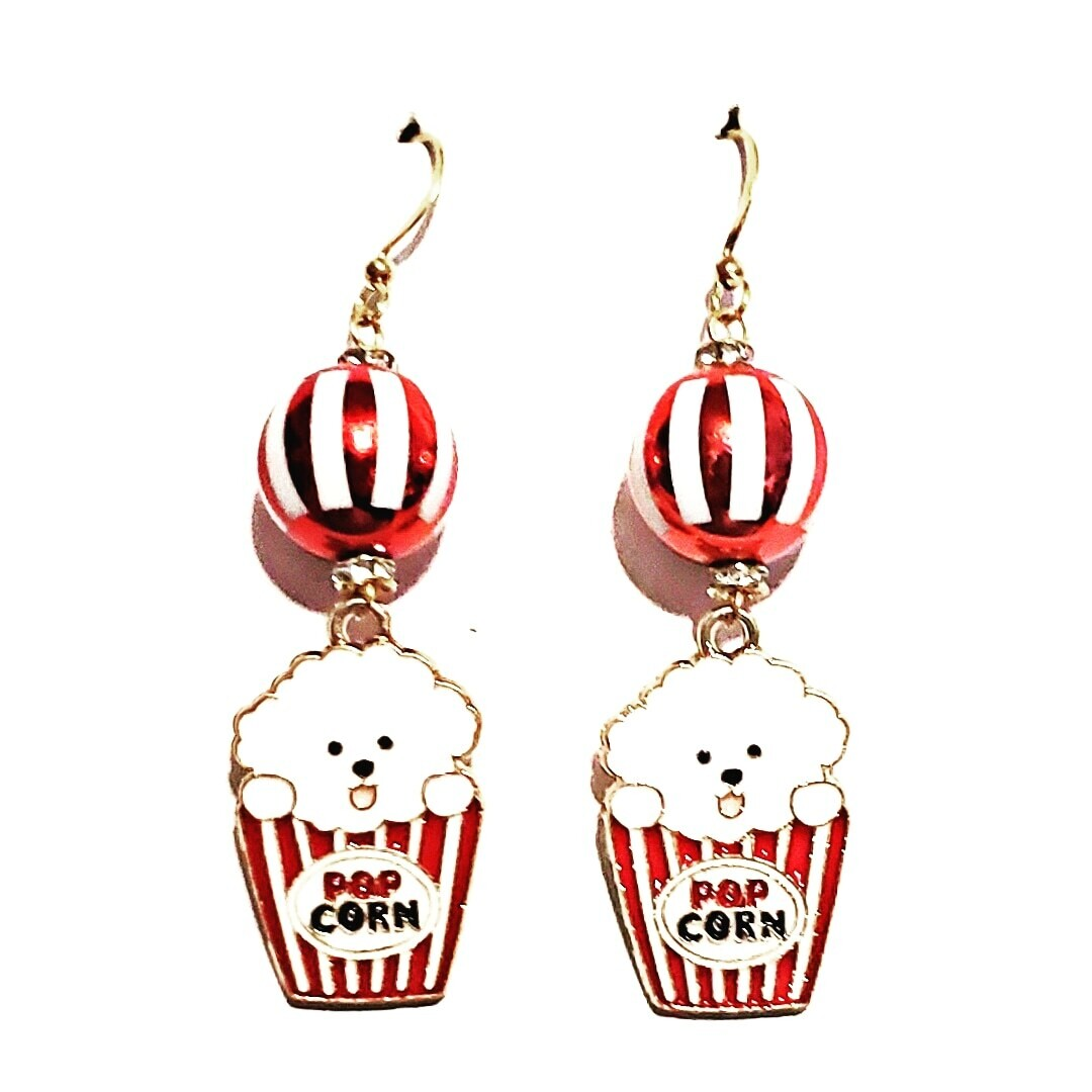 Popcorn Pup Earrings