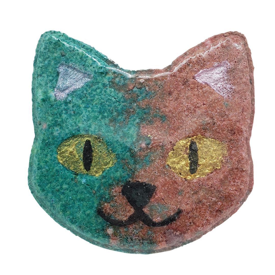 Night Violet Cat Bathbomb