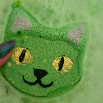 Juicy Pear Cat Bathbomb