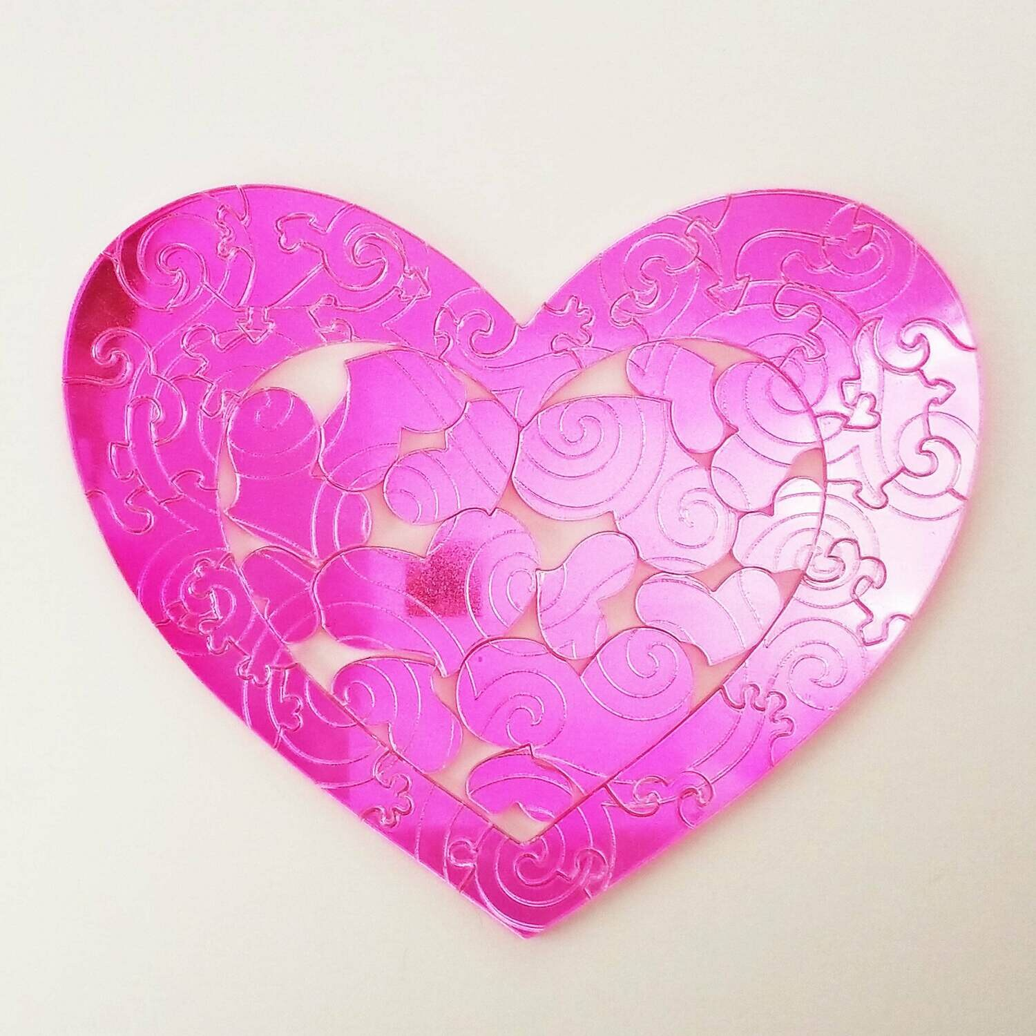 Shimmer Heart Puzzle