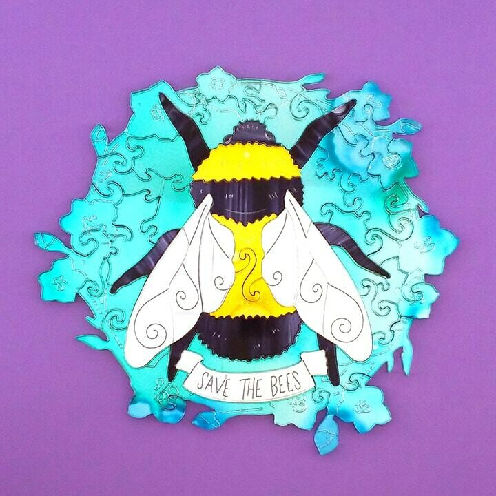 Shimmer Save the Bees Puzzle