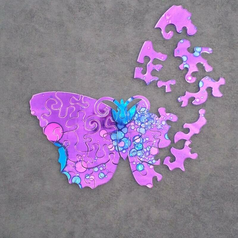 Teaser - Shimmer Butterfly Puzzle
