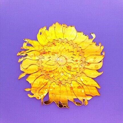 Shimmer Sunflower Puzzle