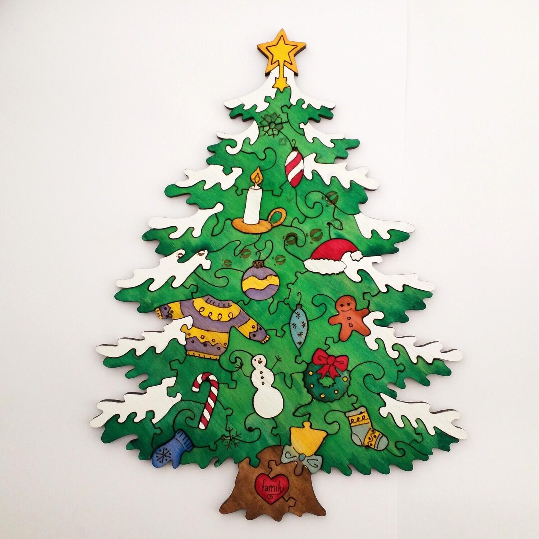 Digital File - Christmas Tree Puzzle